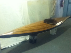 Hand crafted wood composite kayaks forsale
