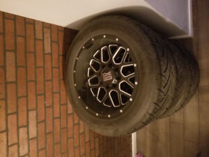 XD Grenades 20x10 & nitto 420 package