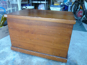 Coffee Table / Antique storage or Toy chest - $100