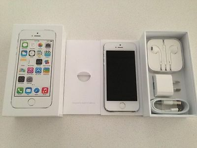Apple iPhone 5s - 16GB - Silver (Factory Unlocked) Smartphone