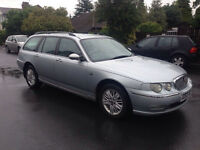 2002 rover 75 2.0 Cdti tourer -good condition