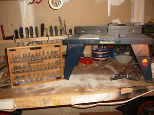 power router table and accessories Kitchener / Waterloo Kitchener Area image 2