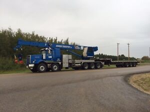 45 ton picker and trucking services