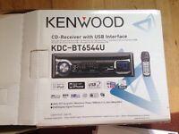 Kenwood car radio with CD player