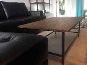 Table basse rustique en bois de palette