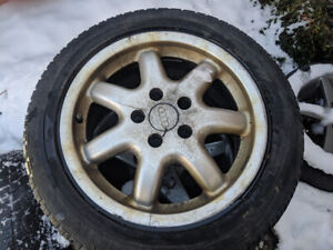 """Audi A4 5x112 16"""" Winter Tires and Wheels"""