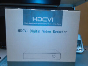 2 HDCVI Digital Video Recorder - Brand New - $300.00