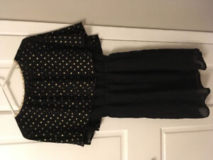 Black and Gold Dress - 1920s Style