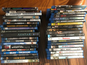 Blue ray movies 5$