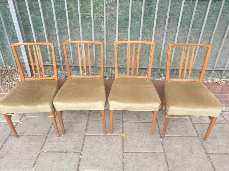 Gordon Russell Teak Dining Chairs Vintage In Tooting Broadway