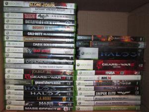 Xbox 360 Games $5/$10 Each