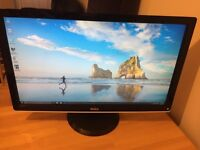Dell ST2410 Monitor & Charlie Roth speakers
