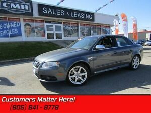 2008 Audi S4 4.2 quattro   V8 AWD NAV ROOF HEATED LEATHER SEATS