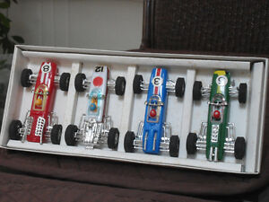 SET OF 4 RACING CARS CIRCA LATE 50'S EARLY 60'S Cambridge Kitchener Area image 1