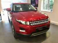 Land Rover Range Rover Evoque SD4 PRESTIGE LUXURY Auto, Firenze Red 4X4