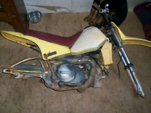 1983 Yamaha Mono Shock 80cc PARTS or PROJECT