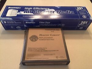 Air Filter & Humidifier Pad