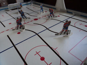 vintage tabletop national hockey league game