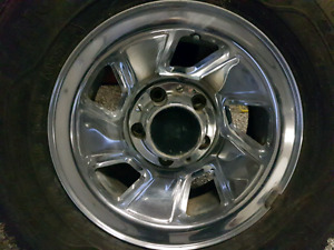 Rims and tires off ford f150       $ 250obo