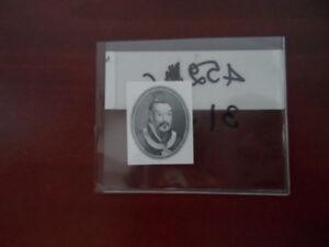 Rare Banknote Portrait Engraving
