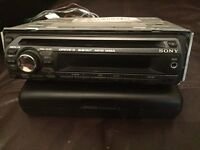 Sony CDX-GT222 MP3 / WMA Player, Front aux input