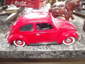 metal  model  of 1963  volkswagon  bug