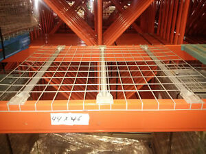 New wire mesh decking for pallet racking in stock - many sizes