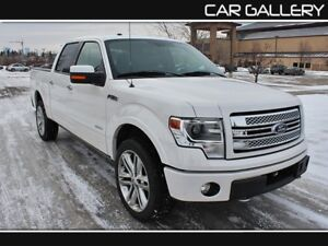 2014 Ford F-150 Limited w/Leather, Sunroof, Navi $269B/W YOU'RE