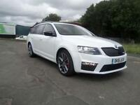 "SKODA OCTAVIA 2.0 TSI VRS 5 DOOR ESTATE 2016 ""16"" REG 9,000 MILES FROM NEW 230PS"