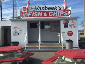 WELL ESTABLISHED BUSINESS FOR SALE -Jerry Vanbeek's Fish & Chips