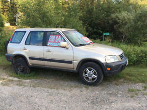 3 Honda CRV 2001 Gold Rush