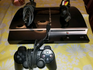 Playstation 3 System with 10 Games.  $100