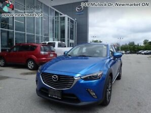 2016 Mazda CX-3 GT - Sunroof -  Navigation -  Leather Seats -...