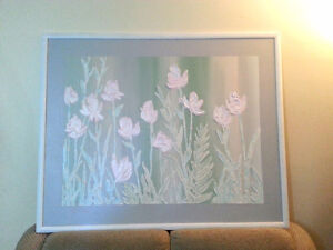 Stephen Kaye ORIGINAL Abstract Flowers Still Life Painting