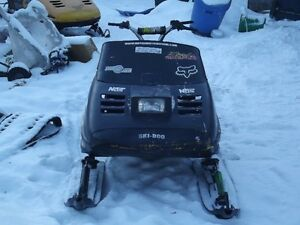 Ski-doo and dirt bike for sale