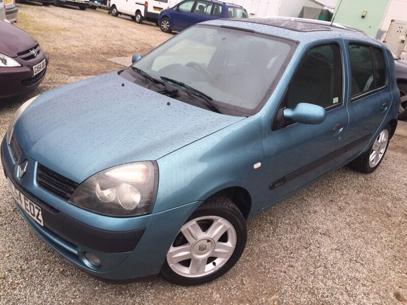 renault clio 1 2 16v in falmouth cornwall gumtree. Black Bedroom Furniture Sets. Home Design Ideas