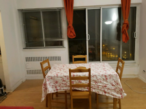 Water view 4 1/2 Appartement sublet