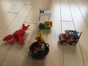 Lego Desert Racer/Mega Blocks Displicable Me/and more