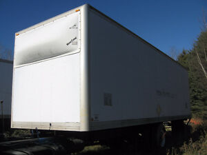 28' box for warehouse (not insulated)