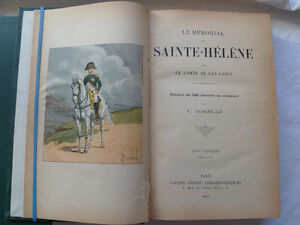 Le Memorial de Sainte-Helene. Edition 1895
