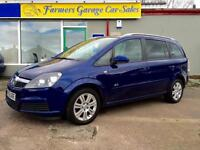 Vauxhall/Opel Zafira 1.9CDTi ( 120ps ) Active 70,434 Miles In Blue