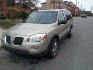 2007 Pontiac Montana Minivan very clean ! $2950 all in !!