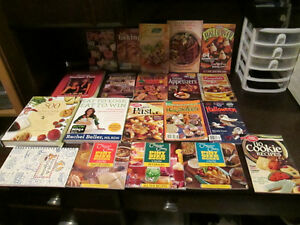 Bunch of cook books...
