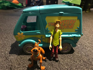Scooby Do, Mystery Machine and Monster Collection-Gently Used