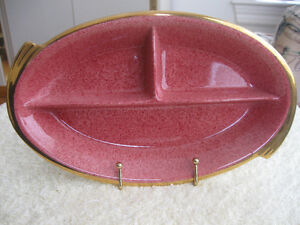 GORGEOUS OLD VINTAGE ROYAL WINTON SECTIONED SERVING TRAY