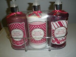BODY WASH, BODY LOTION, HAND LOTION - SET OF 3