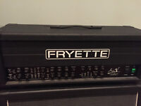 Fryette Sig:X 100W Tube Amp Head with D2F cover