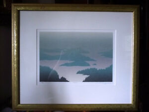 "Original Hand Signed Serigraph, Peter and Traudl Markgraf ""Dusk"" Stratford Kitchener Area image 1"