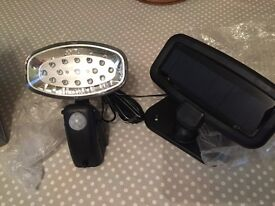 maplin 15LED solar PIR light