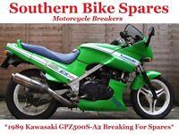 1989 Kawasaki GPZ500S A2 Breaking For Spares / Parts* GPZ500 GPZ 500 S EX500-A2